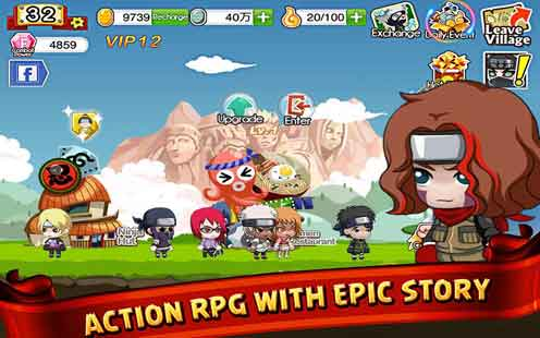Ninja Heroes Mod Apk Android