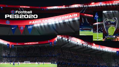 PES 2020 Stadium Parc des Princes UCL Edition