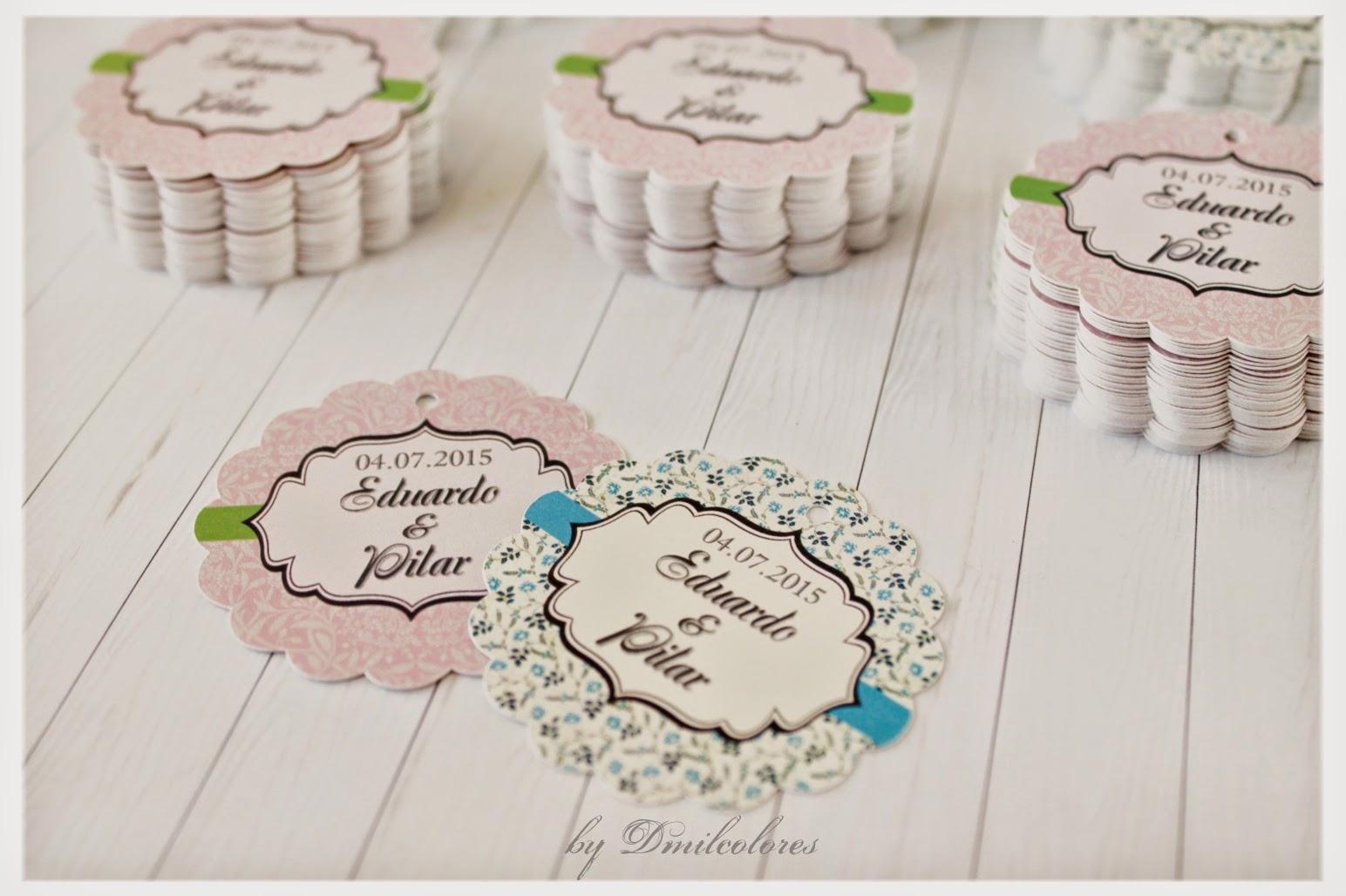 Dise o personalizado de etiquetas de boda for Diseno de etiquetas