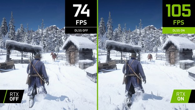 Red Dead Redemption 2 for PC is faster on Nvidia RTX cards as of today