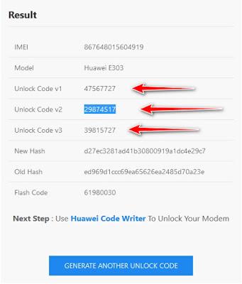 فتح كود موديم هواوي Unlock modem Huawei E303