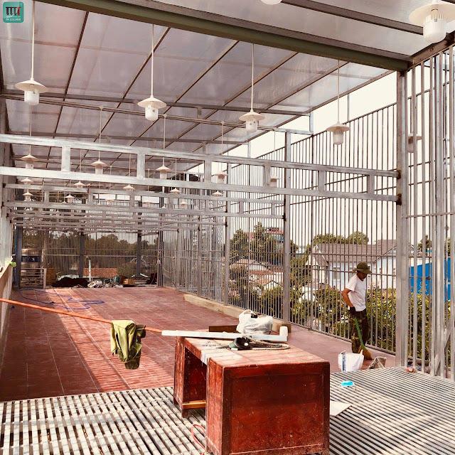 Trang trí quán trà sữa, cafe tại Thủ Dầu Một