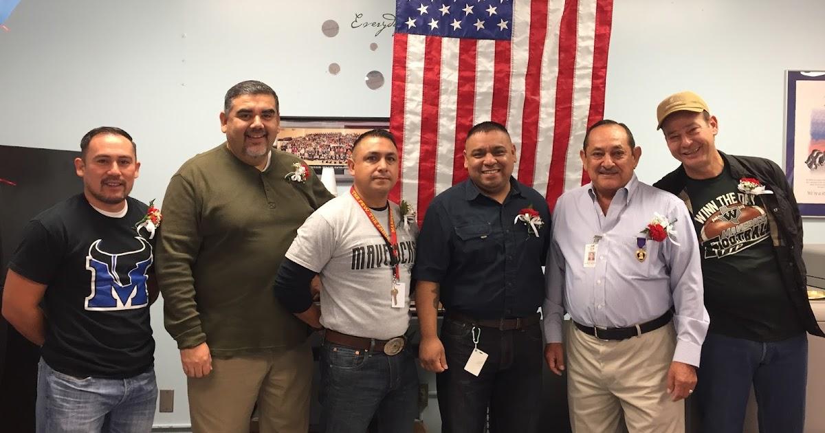 Eagle Pass Isd Ivision Memorial Junior High Honors Veterans