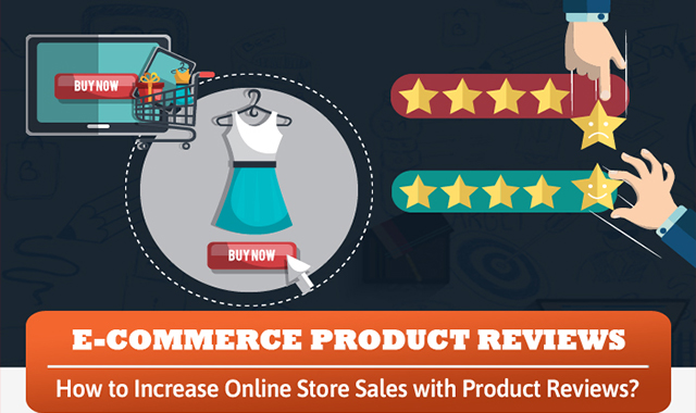How to Increase Online Store Sales with Product Reviews #infographic