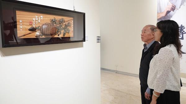 施至輝藝師入行七十年特展 彰化縣立美術館展出