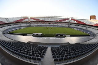 Estadio Monumental terminado 2021