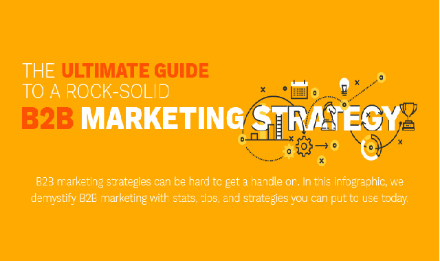 The Ultimate Guide to a Rock-Solid B2B Marketing Strategy #infographic
