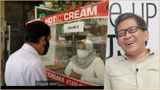 Jokowi ke Apotek Kehabisan Obat Covid, Rocky Gerung: Itu Pesan Siap-siap Kalian Meninggal