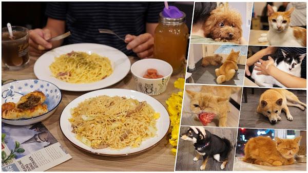 台南永康區美食【魔法咪嚕寵物主題餐廳】台南寵物友善餐廳人氣推薦|貓控犬控必來,舒壓療癒的小天地!