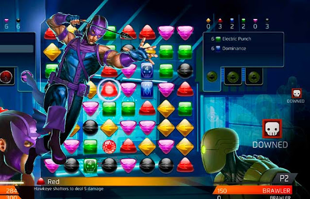 marvel puzzle quest sin internet