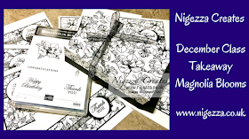 Nigezza Creates Online classes with Stampin' Up! and Magnolia Blooms