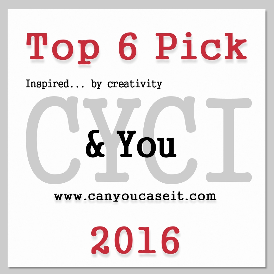 I was one of the Top 6 pick in this week's Can You Case It Colour Challenge