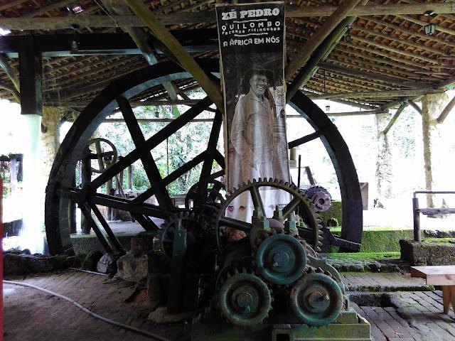 Casa da Farinha do Quilombo da Fazenda de Picinguaba