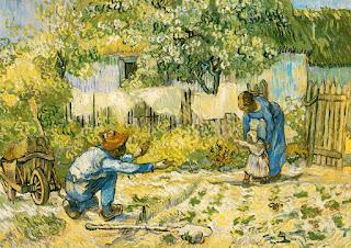 Opera di Vincent Van Gogh sulla famiglia