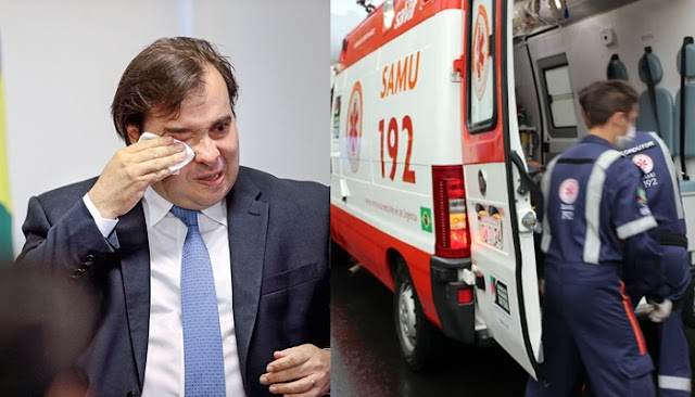URGENTE: Rodrigo Maia passa mal após fundão eleitoral ser bloqueado por juiz federal