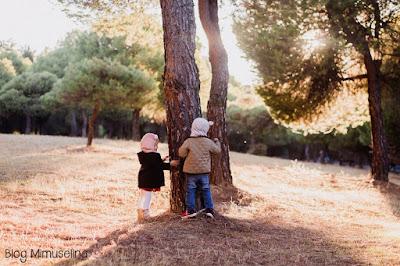 otoño con niños actividades blog mimuselina