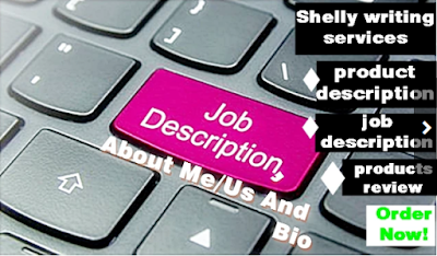 Job description, job posting, product description, hiring, cover letter,