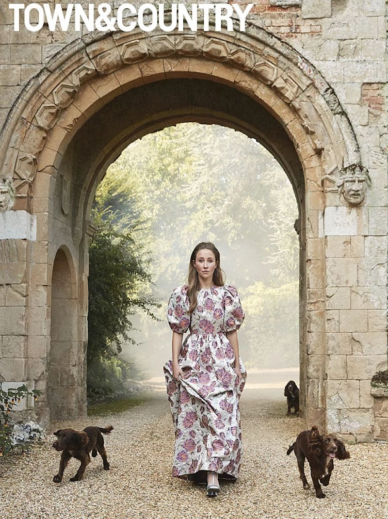 Erin Doherty Featured in Town and Country Magazine - Winter 202