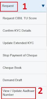 Link Aadhaar Number to HDFC Bank