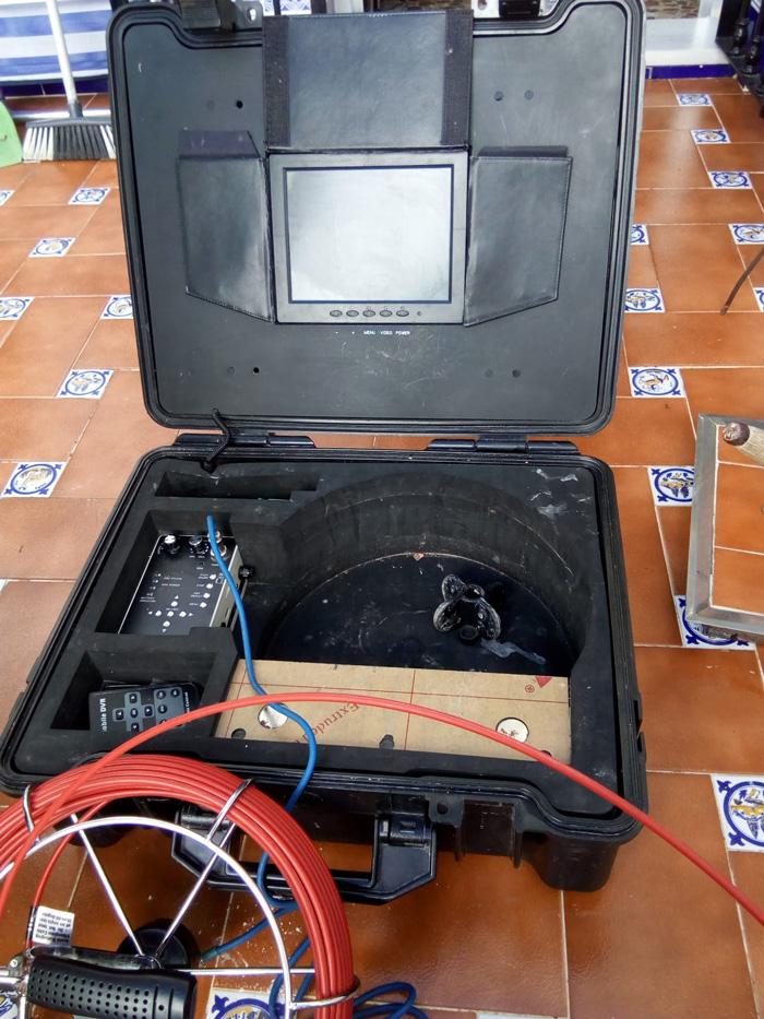 Equipo de inspección con cámara Tv en Sevilla
