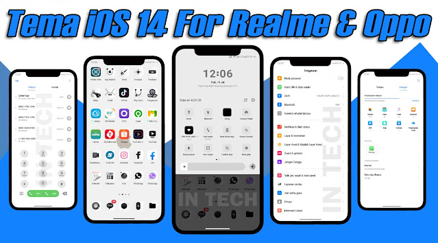 Tema IOS 14 For Realme & Oppo Tembus Sampai Akar - Permanent