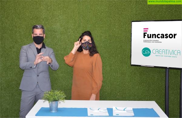 Funcasor y Creatívica firman un conveniocon la mirada puesta en la accesibilidad