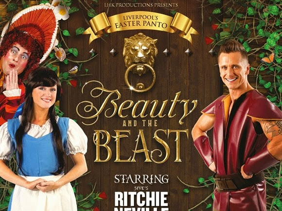 Beauty and the Beast Panto at Epstein Theatre