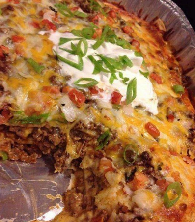 Walking Taco Casserole  Add a photo to show how it went