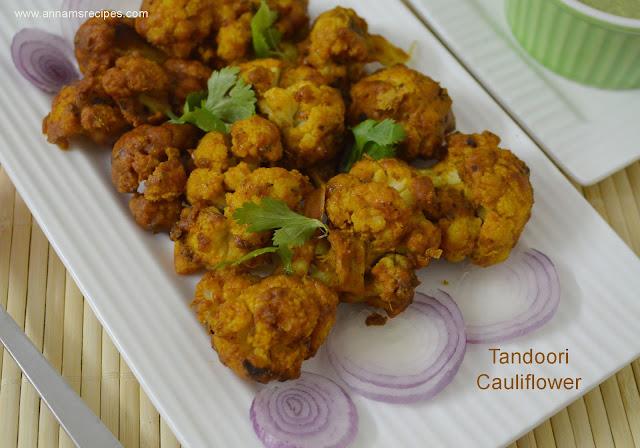 Tandoori Cauliflower / Tandoori Gobi