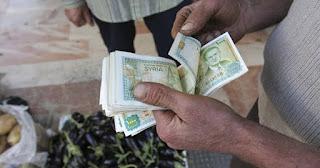 سعر صرف الليرة السورية أمام العملات الرئيسية الاحد 12/1/2020