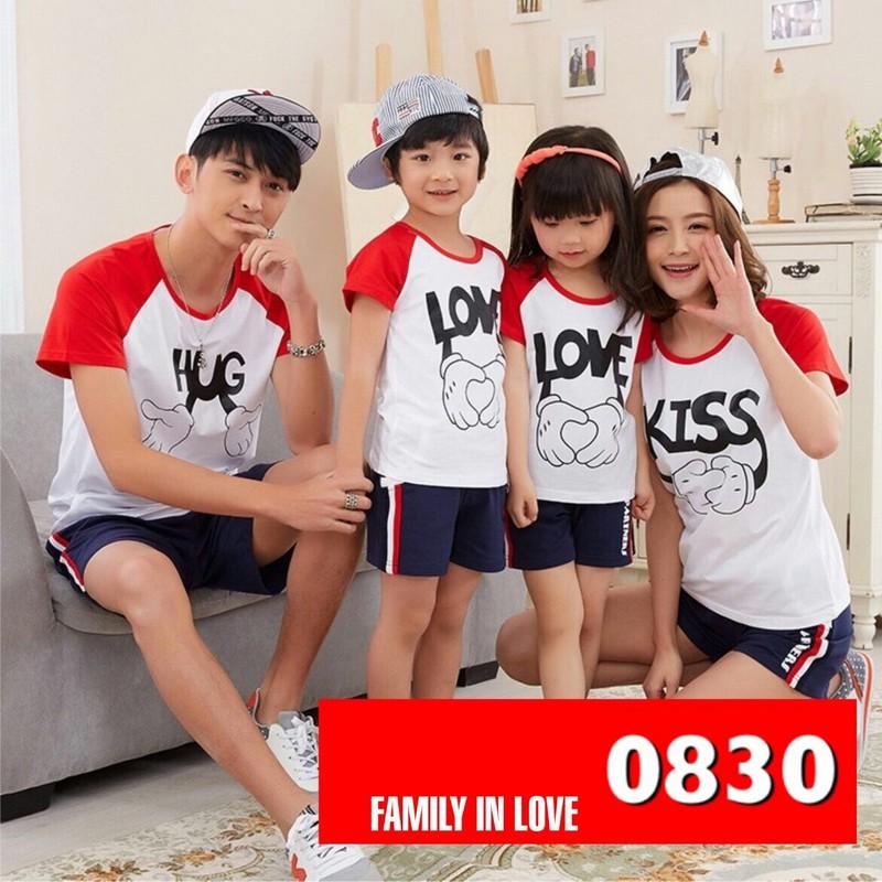 Jual Online FM2 Hug Kiss Couple Murah Jakarta Bahan Combed Terbaru