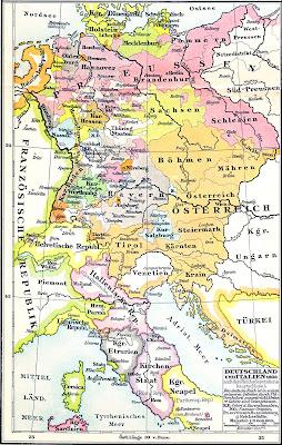 Deutschland nach dem Reichsdeputationshauptschluss#