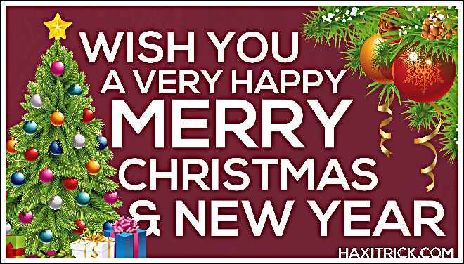 Merry Christmas and Happy New Year Images 2020 Images Pics Photos