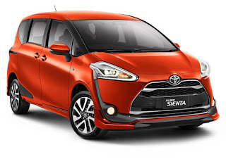Mobil Idaman Toyota Sienta