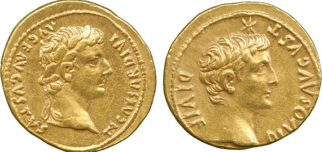 Moneda de oro romana y Derecho romano
