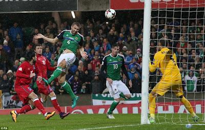 La selección de futbol de Irlanda del Norte ya derrotó a Azerbaiján en la eliminatoria Europa Rusia 2018