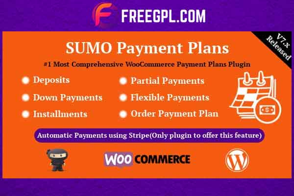 SUMO WooCommerce Payment Plans Free Download
