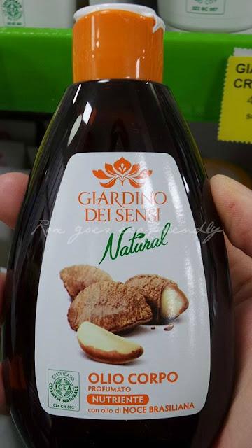 Giardino dei Sensi Bio - olio corpo noce brasiliana
