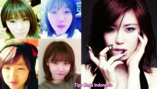 artis korea Hyosung - SECRET tanpa memakai makeup