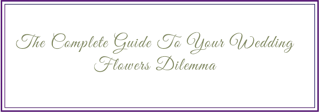 K'Mich Weddings - wedding planning - subheading - the complete guide to your flowers delimma - weddingsbykmich