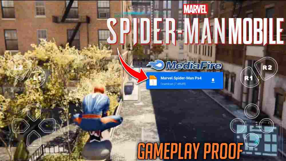 How to Download Marvel's Spider-Man For Android   Only 7 Mb🔥   Without Verification
