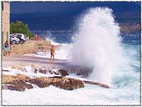 veliki valovi Postira slike otok Brač Online