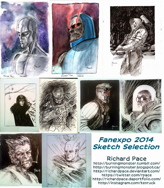 Fanexpo 2014 Sketch Wrap