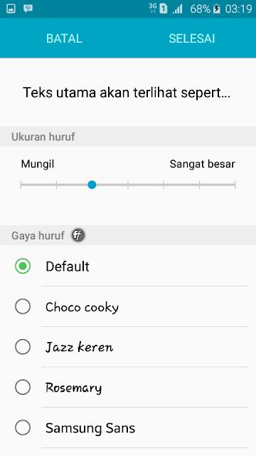 Cara Ubah Font Style Android Agar Terlihat Keren
