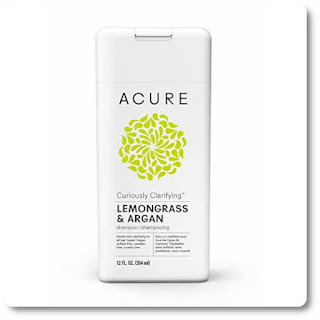 Acure Curiously Clarifying Lemongrass shampoo