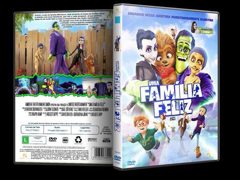 Capa DVD Uma Família Feliz [Exclusiva]