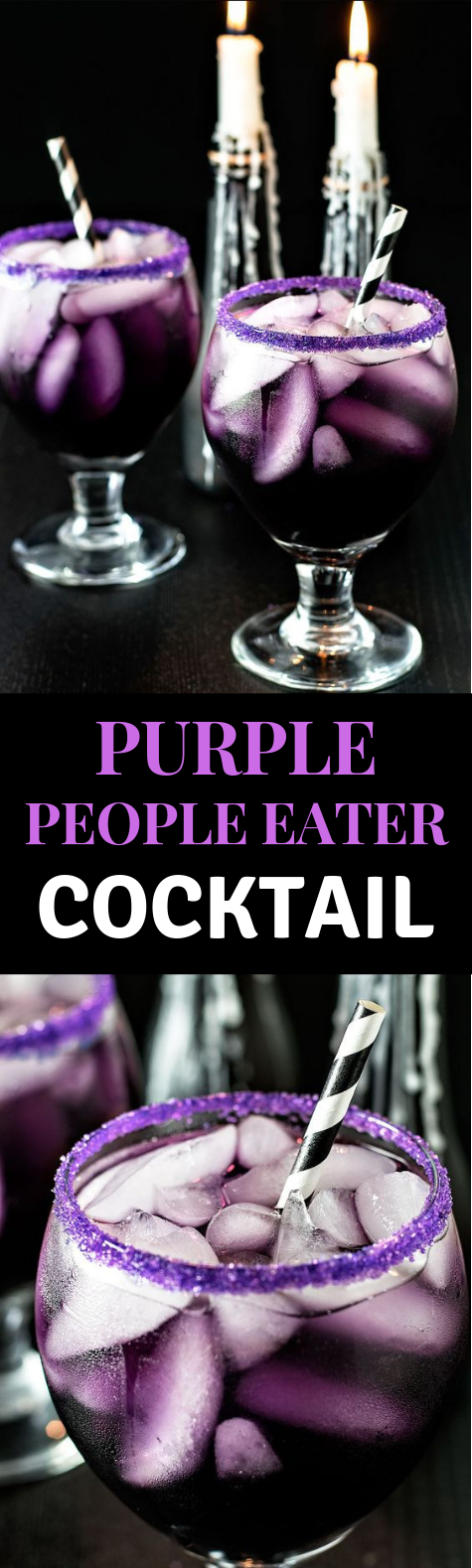 PURPLE PEOPLE EATER COCKTAIL #Cocktail #Drink