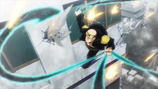 ヒロアカアニメ   ワン・フォー・オール 5代目 ラリアット 黒鞭   僕のヒーローアカデミア  My Hero Academia One For all Fifth user Lariat