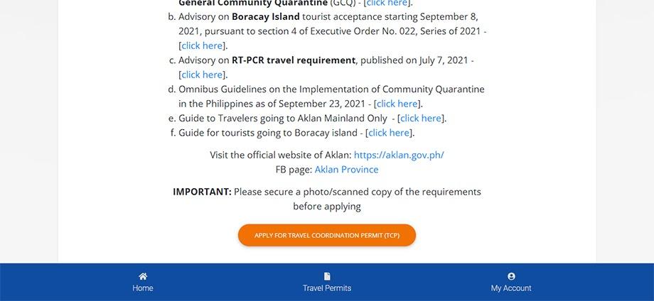Sample LGU guideline page