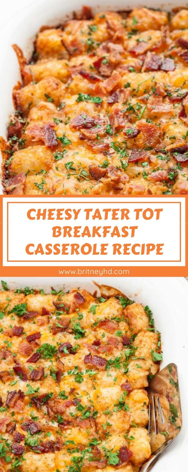 CHEESY TATER TOT BREAKFAST CASSEROLE RECIPE